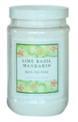 Lime Basil Mandarin Bath Oil Fizz