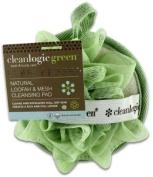 Cleanlogic Green Natural Loofah & Mesh Cleansing Pad