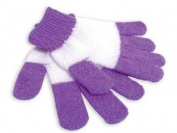 EvriTouch Purple Exfoliating Shower Gloves