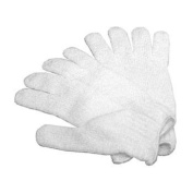 Bath And Body Exfoliating Glove * 1-pair * White