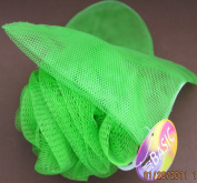 Just Basic BATH & SHOWER PUFF & MITT - Green Colour