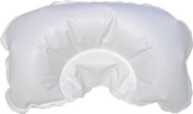 Bath Dlight White Inflatable Bath Pillow