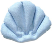 Inflatable Flower shaped Bath Pillow with Suction Cups, Colours may vary