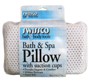 Swissco Bath and Spa Pillow with Suction Cups