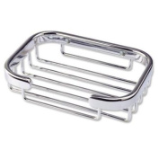Better Living Bath Boutique Traditional Soap Basket, Chrome