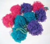Eco Tools Razz Net Sponges Assorted Colours