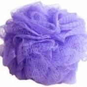 Body Pouffe Net Sponge Exfoliating - Varied Colours