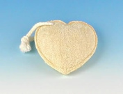 Fun Shaped Loofah Sponge - Heart Shaped