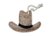 Natural Loofah Multi-Purpose Scrubber - Cowboy Hat