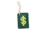 Natural Loofah Multi-Purpose Scrubber - Dollar Bill