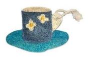 Natural Loofah Multi-Purpose Scrubber - Espresso Cup