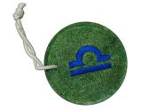 Natural Loofah Multi-Purpose Scrubber - Libra Sign
