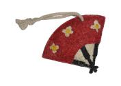 Natural Loofah Multi-Purpose Scrubber - Lotus Blossom Fan