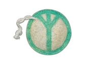 Natural Loofah Multi-Purpose Scrubber - Peace Sign