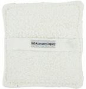 SPA ACCESSORIES TERRY SOAPING SPONGE POCKET (WHITE) for UNISEX