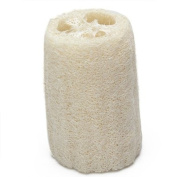 Natural Loofah Bath Shower Sponge Scrubber--Off-White