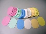 Compressed Cellulose - 144 Pack - Oval Sponge
