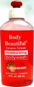 Body Beautiful European Formula Moisturising Body Wash Strawberry