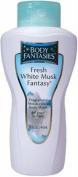 Fresh White Musk Fantasy by Parfums De Coeur for Women. Fragranced Moisturising Body Wash 15 Oz / 443 Ml