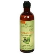 Healing Garden Organics By Coty Olive & Aloe Body Wash 240ml - 240ml