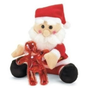 Santa Christmas Plush with Gel - Style 37066