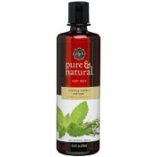 Pure & Natural Body Wash, Cleansing Rosemary & Mint, 12.8 Fl Oz