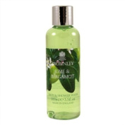 Bronnley Lime and Bergamot Bath and Shower Gel 100ml shower gel