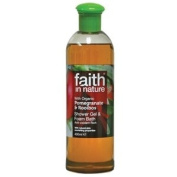 Faith In Nature Pomegranate & Rooibos Shower Gel & Foam Bath 400ml