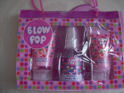 Blow Pop Bath Collection Including Scented Body Lotion, Scented Body Mist, and Scented Body Wash