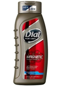 Dial for Men Magnetic, Attraction Enhancing-Phermone Infused Body Wash 21 fl oz