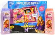 Crayola Disney Hannah Montana Rockin' Dream Journal Photo Album with Sound + Two 350ml Hannnah Montana Body Wash By Olay