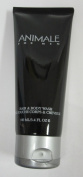 Animale for Men Hair & Body Wash - 100ml - New, originally part of a set