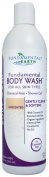 Fundamental Body Wash - Unscented Natural Shower Gel - 350mls - Made in USA