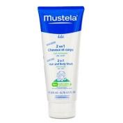 Mustela 5.1cm 1 Hair and Body Wash - 200ml/6.76oz