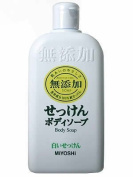 Miyoshi Soap | Body Shampoo | Additive Free White Soap 400ml