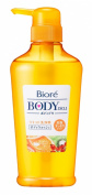 Kao Biore BODY DELI   Body Wash   Juicy Shampoo Orange & Rosehip 400ml