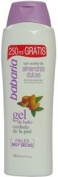 Babaria Shower Gel with Sweet Almond Oil for Very Dry Skin, 750ml / 25.5 Oz