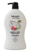 Lover's care goat's milk shower cream 40.7 oz (1200ml) -Rose Hip plus Bio Nutrient