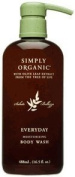 Simply Organic Everyday Moisturising Body Wash, 490ml