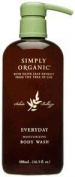 Simply Organic Everyday Moisturising Body Wash, 490ml