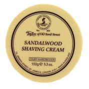Taylors of Old Bond Street (Tobs10) - Sandalwood Shaving Cream 150g - Made in England