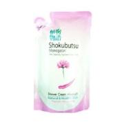 Shokubutsu Monogatari Chinese Milk Vetch Nourishing Shower Cream Body Wash Bath Made in Thailand