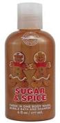 Bath & Body Works Temptations Sugar & Spice 7.6cm 1 Body Wash, Bubble Bath, & Shampoo Travel Size 6 fl oz