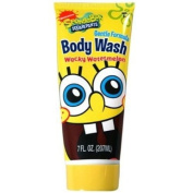 Nickelodeon SpongeBob 210ml Body Wash and 210ml Shampoo and SpongeBob Sticker Book