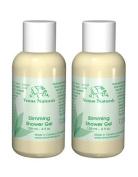 Venus Body Slimming Shower Gel with Pure Marine Algae Serum, 2 - 120ml Bottles