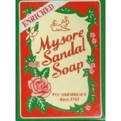 Mysore Sandalwood Enriched Sandal Soap 125g