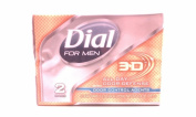 Dial for Men 2 Soap Bars.