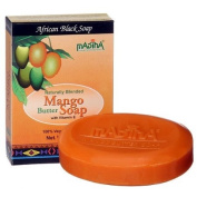 Madina Mango Butter Soap with Vitamin E 100ml African Black Soap