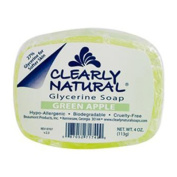 Clearly Natural Glycerine Bar Soap Green Apple 120ml