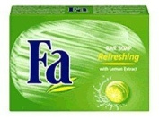 Fa Caribbean Lemon Refreshing Bar Soap 125 g